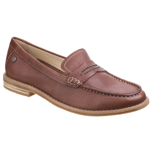 Hush Puppies Tan Aubree Chardon Loafer