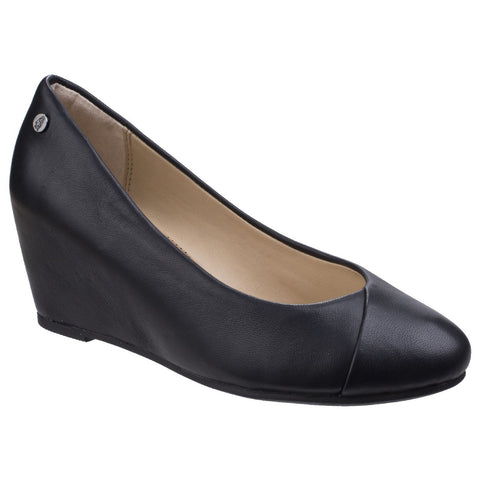 Hush Puppies Black Maybe Marloe Heeled Slip on Shoe