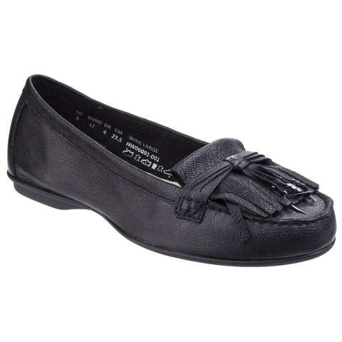 Hush Puppies Black Naveen Robyn Slip-On Loafer