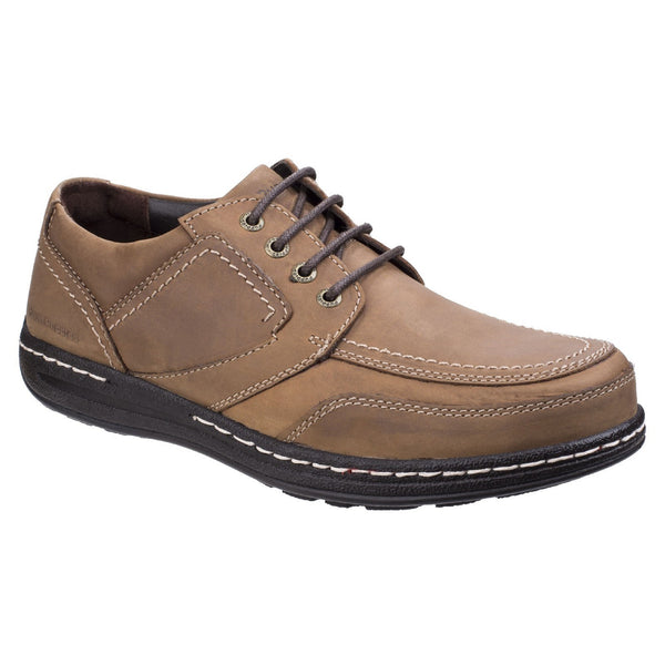 Hush Puppies Brown Volley Victory Mens Formal Lace up Shoe