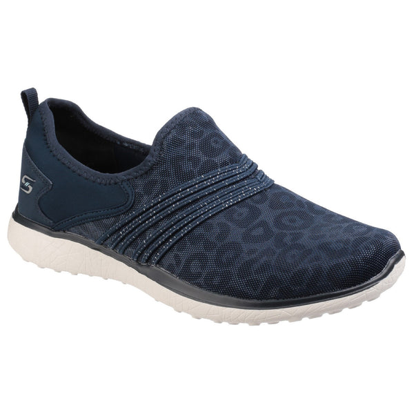 Skechers Navy Microburst Under Wraps