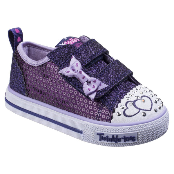 Skechers Purple/Blue Shuffles