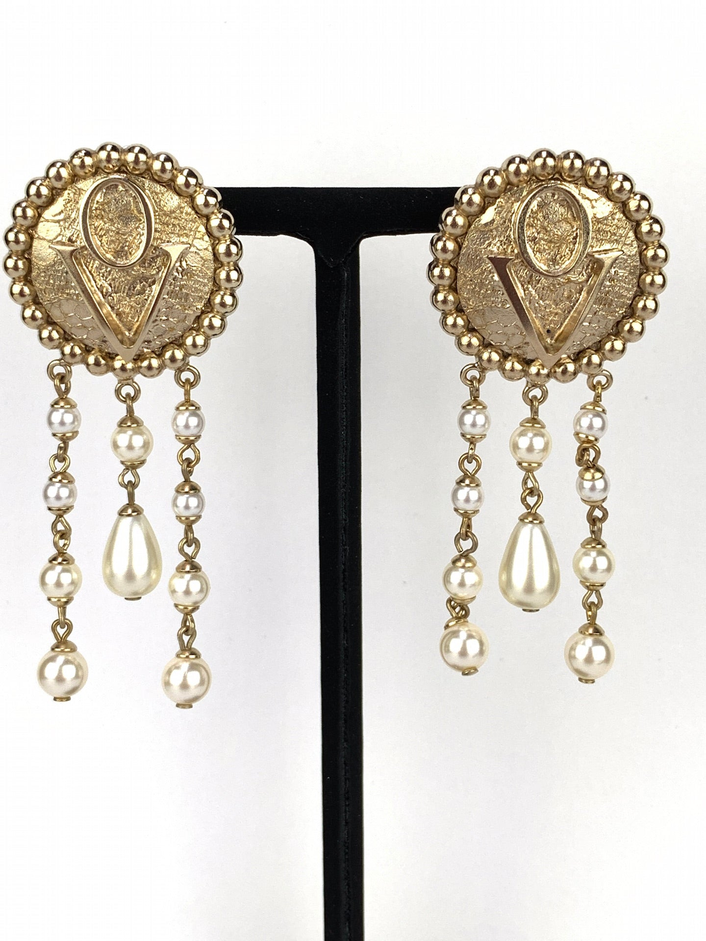 Earrings Dentelle