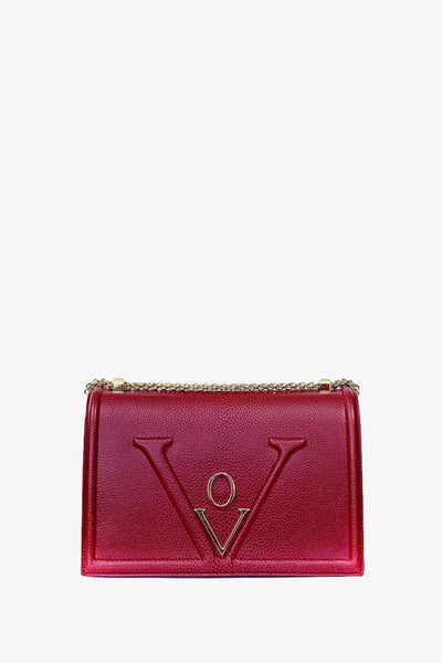 Chain Bag Icone Mademoiselle Red