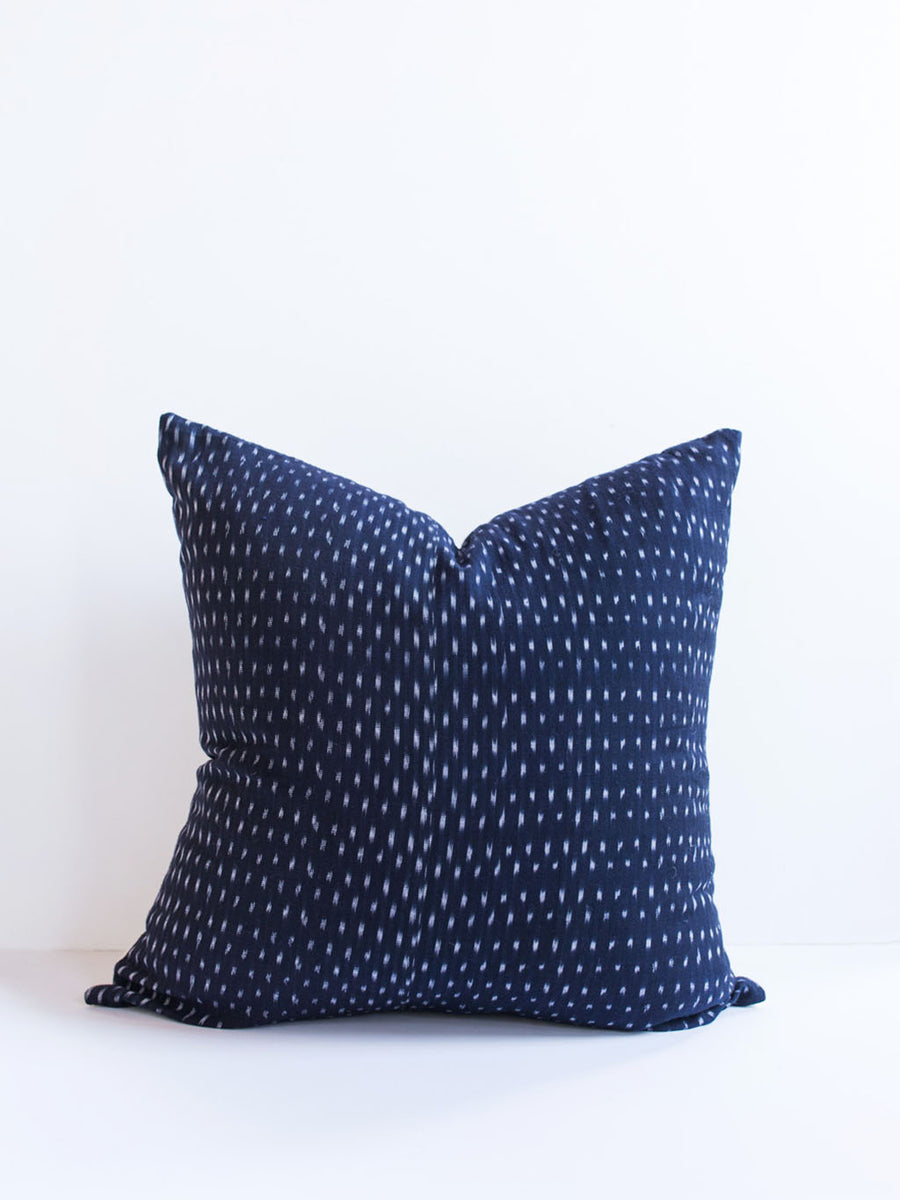Indigo Dash Pillow
