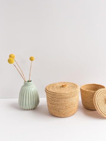 Small Straw Basket