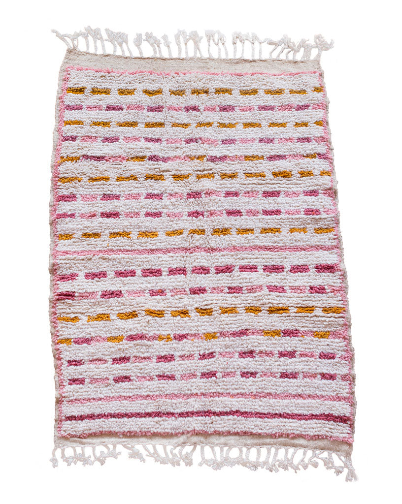 Striped Shag Rug