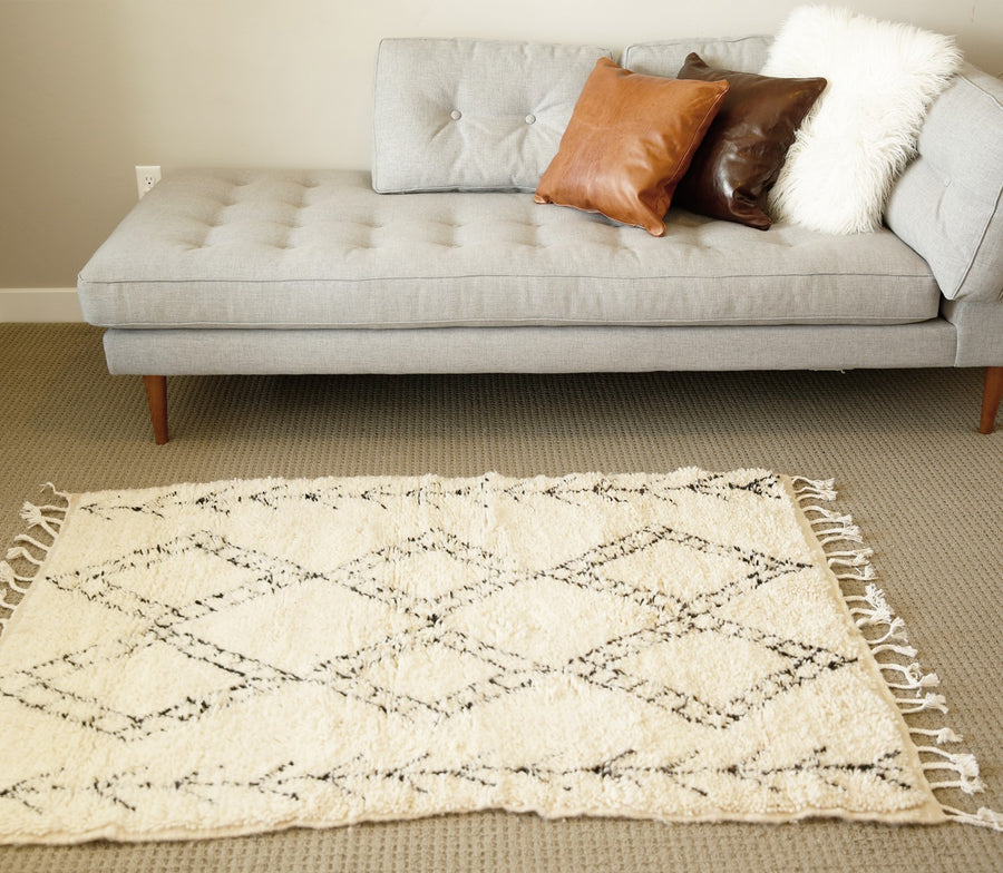 Arrows Shag Rug