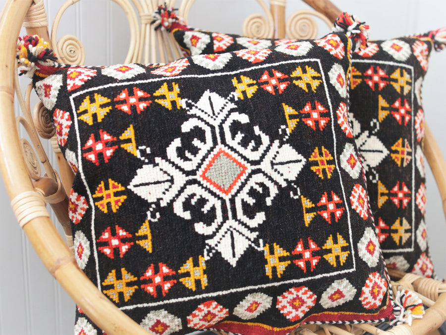 Vintage Algerian Wool Pillow