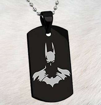 Black Dog Tag - Batman - Patzam