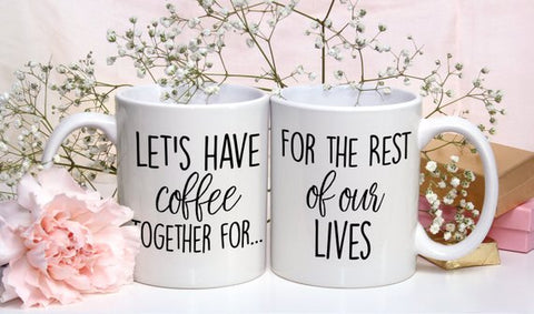 Coffee Together Couple Mugs - Patzam