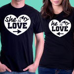 Love Couple T-Shirts - Patzam