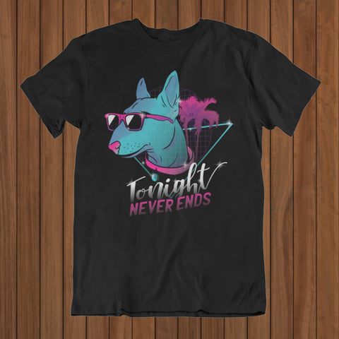 Dog neon T-Shirt (DTG) - Patzam