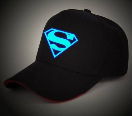 Superman Cap - (Glow in dark) - Patzam