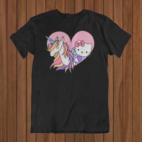Kitty Unicorn T-Shirt (DTG) - Patzam