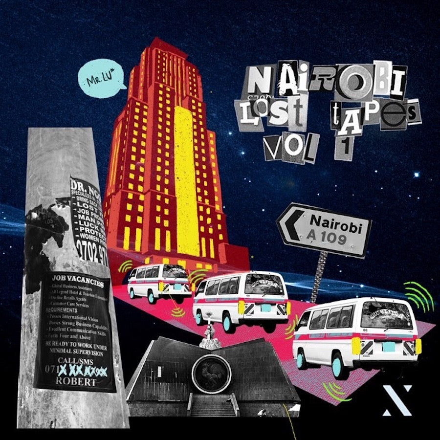 NAIROBI LOST TAPES VOL 1 (EP) - MR. LU