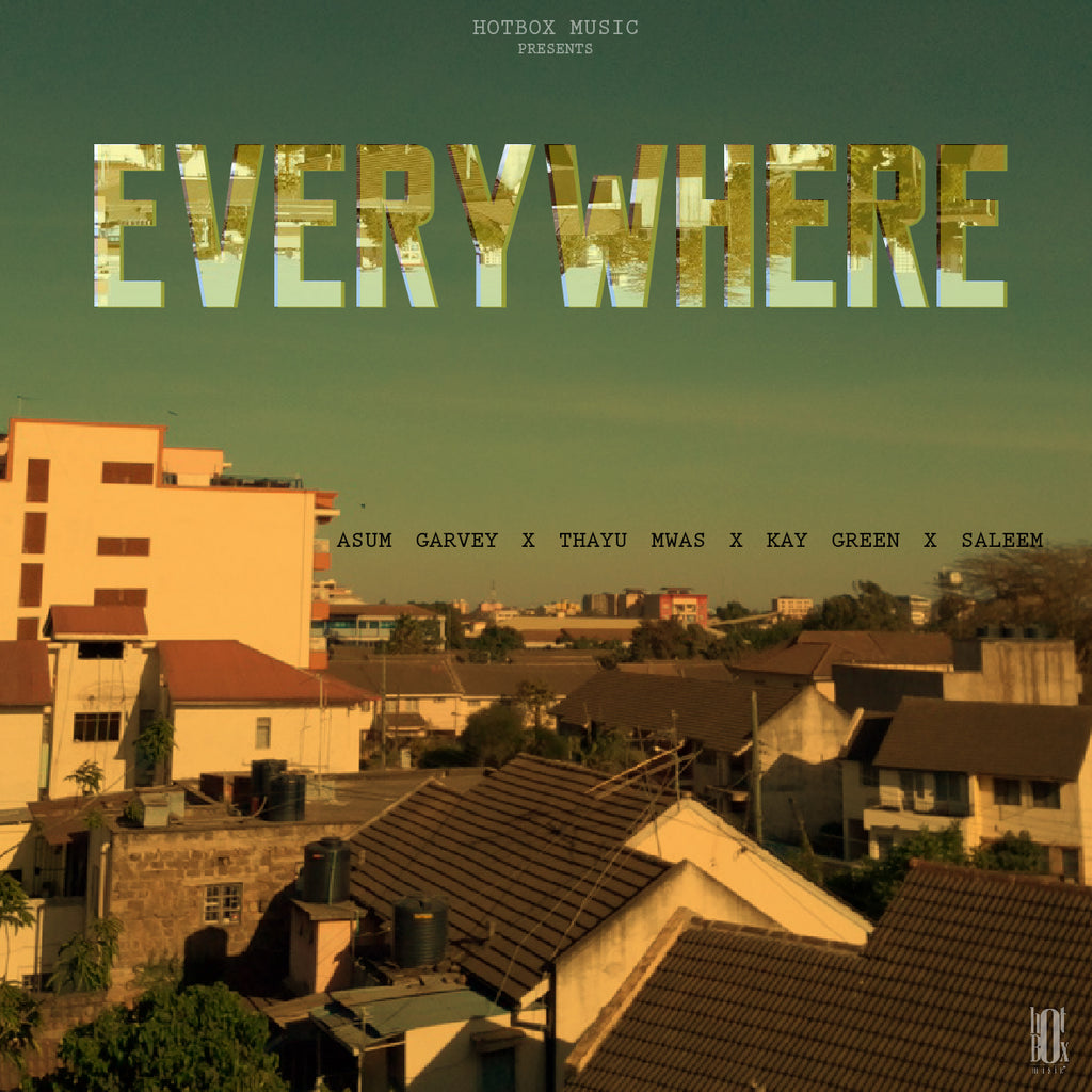 EVERYWHERE (AUDIO VISUALISER) - ASUM GARVEY x THAYU MWAS x KAY GREEN
