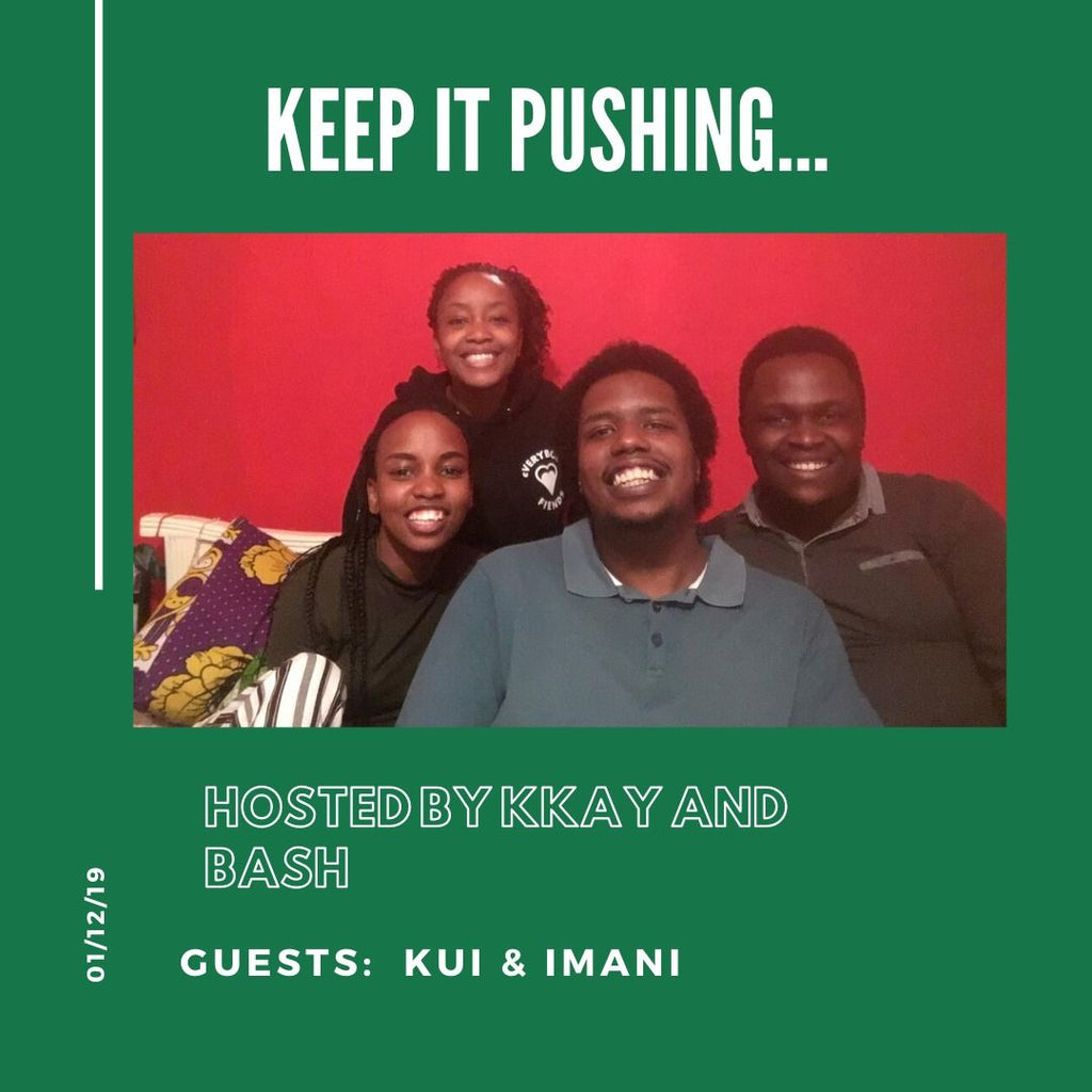 KEEP IT PUSHING (Episode 4) - COSY CONVOS