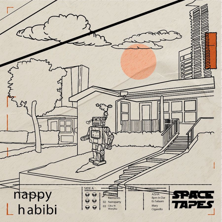 SPACETAPES - Vol. 1 (Album) - NAPPY HABIBI