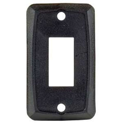 1/pk  Black  Single Switch Plate