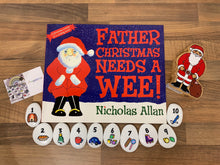 Load image into Gallery viewer, NEW 'Father Christmas Needs a Wee' Imagistones & Book Bundle