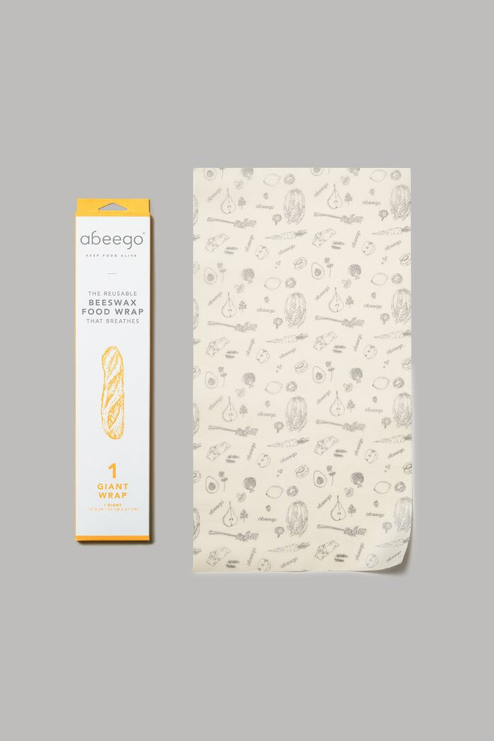 Abeego Beeswax Food Wrap - Giant (1)