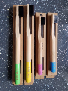 Zero Waste Adult and Child Bamboo Toothbrush