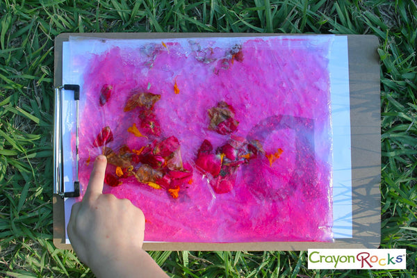 tracing letters with crayon rocks australia