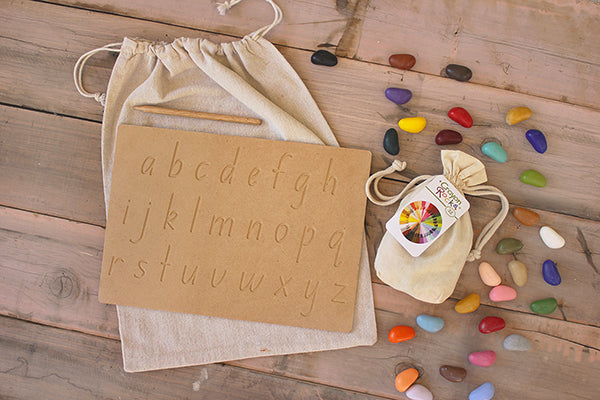 Draw and Explore Lowercase Alphabet Activity Bag