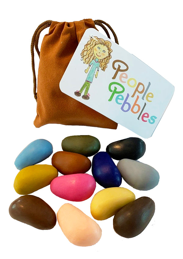 Bag of 12, People Pebbles