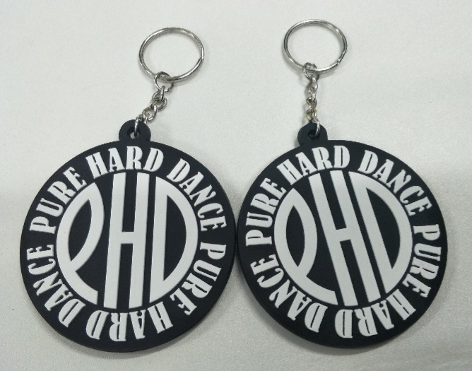 PHD LARGE Rubber Keyring