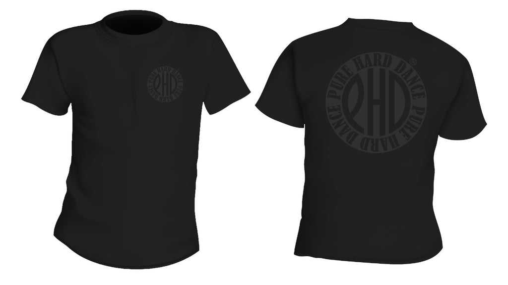 Black on Black Classic Design Tee