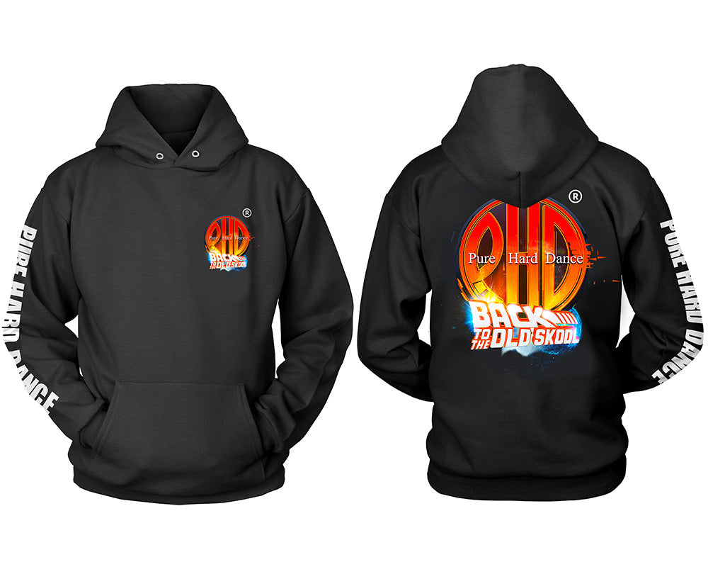 Back to the Old Skool Hoodie (Black)