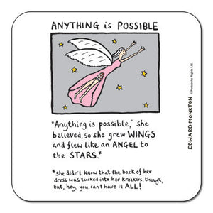 Anything is Possible Coaster<br>(Pack of 10)