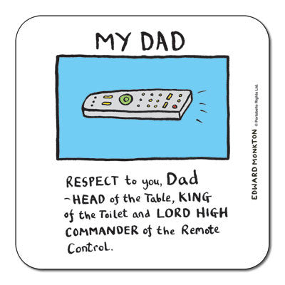 Dad Coaster<br>(Pack of 10)
