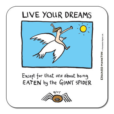 Live You Dreams  Coaster<br>(Pack of 10)