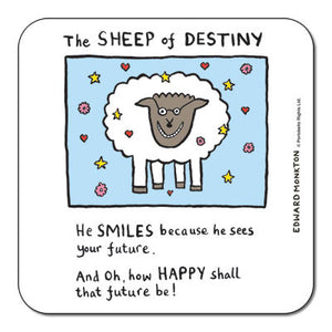 Sheep of Destiny  Coaster<br>(Pack of 10)