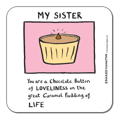 Sister  Coaster<br>(Pack of 10)