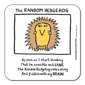 Random Hedgehog  Coaster<br>(Pack of 10)