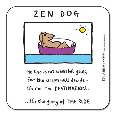 Zen Dog  Coaster<br>(Pack of 10)