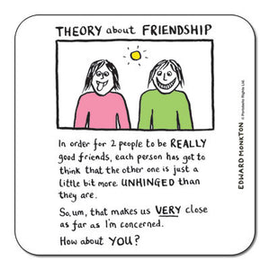 Theory of Friendship  Coaster<br>(Pack of 10)