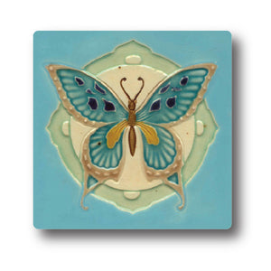 Art Nouveau Tile 04 Ceramic Coaster<br>(Pack of 10)