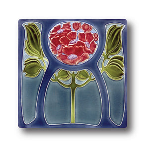 Art Nouveau Tile 30 Ceramic Coaster<br>(Pack of 10)