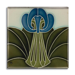 Art Nouveau Tile 17 Fridge Magnet<br>(Pack of 10)