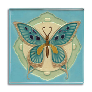 Art Nouveau Tile 04 Fridge Magnet<br>(Pack of 10)