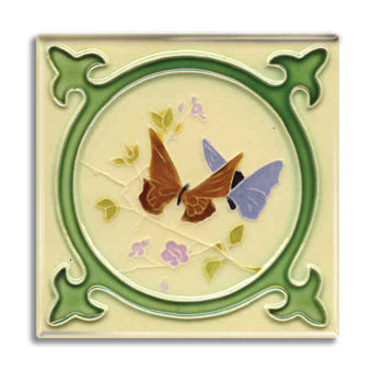 Art Nouveau Tile 05 Fridge Magnet<br>(Pack of 10)