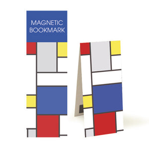 Large Blue Block  Magnetic Bookmark<br>(Pack of 10)