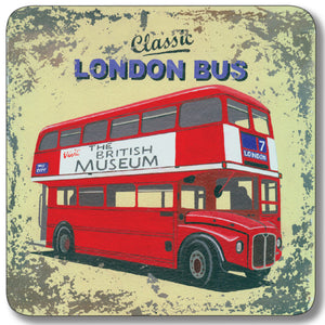 London Red Bus Potstand<br>(Pack of 5)