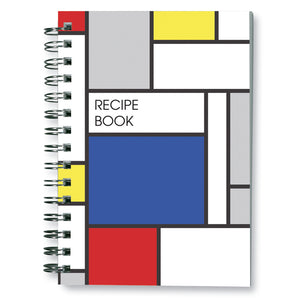 Large Blue Block Recipe Book<br>(Pack of 5)
