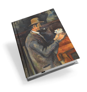 The Card Players Hardback Journal<br>(Pack of 5)
